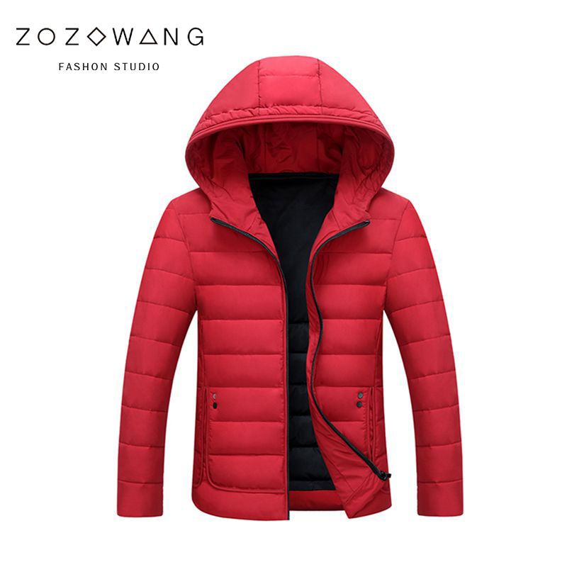2018 Top Quality Warm Men Warm Winter Jacket Windproof Casual Outerwear Thick Coat Men   Parka   Winter Cotton Paddad Hooded Coat