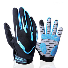 Spring Autumn New MTB Cycling Gloves Shockproof Bike Full Finger Touch Screen Bicycle