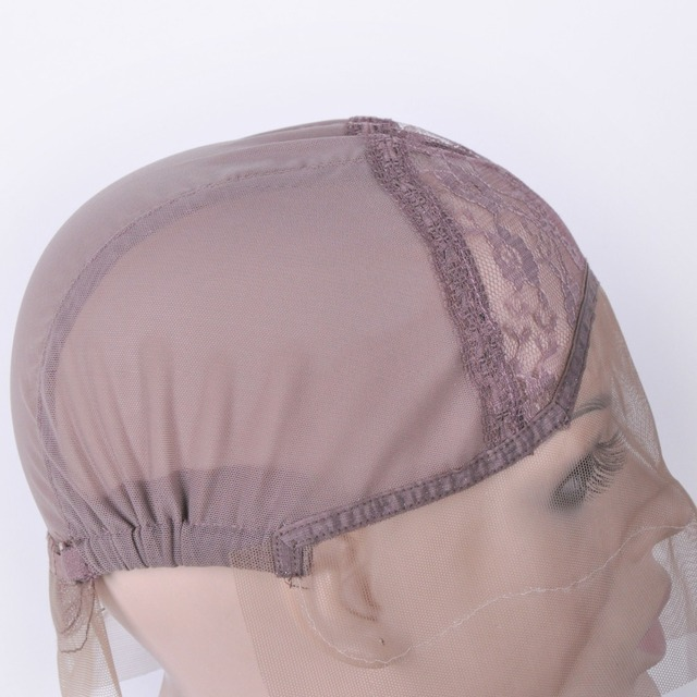 Lace Front Wig Cap For Wig Making Weave Elastic Hair Net Mesh Straps AdjustableLace Cap Making Wigs Accessory & Tools 5