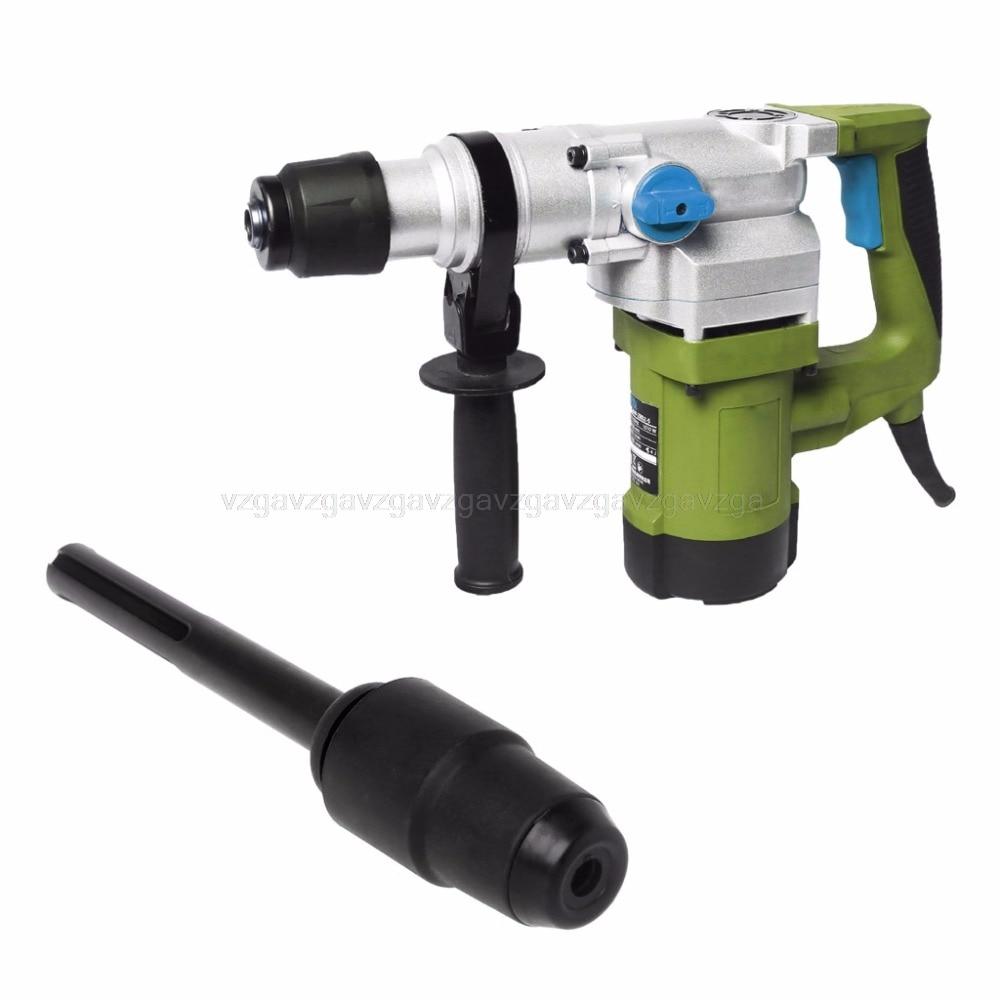 SDS Max To SDS Plus Adaptor Chuck Drill Converter Shank Quick Tool 25mm Diameter Au16 Dropship sds max to sds plus adaptor chuck drill converter shank quick for bosch makita m25