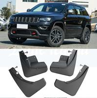 For Jeep Grand Cherokee WK2 2011 2018 Set Front Rear Car Mud Flaps Mudflaps Splash Guards Mud Flap Mudguards 2012 2013 2014 2015
