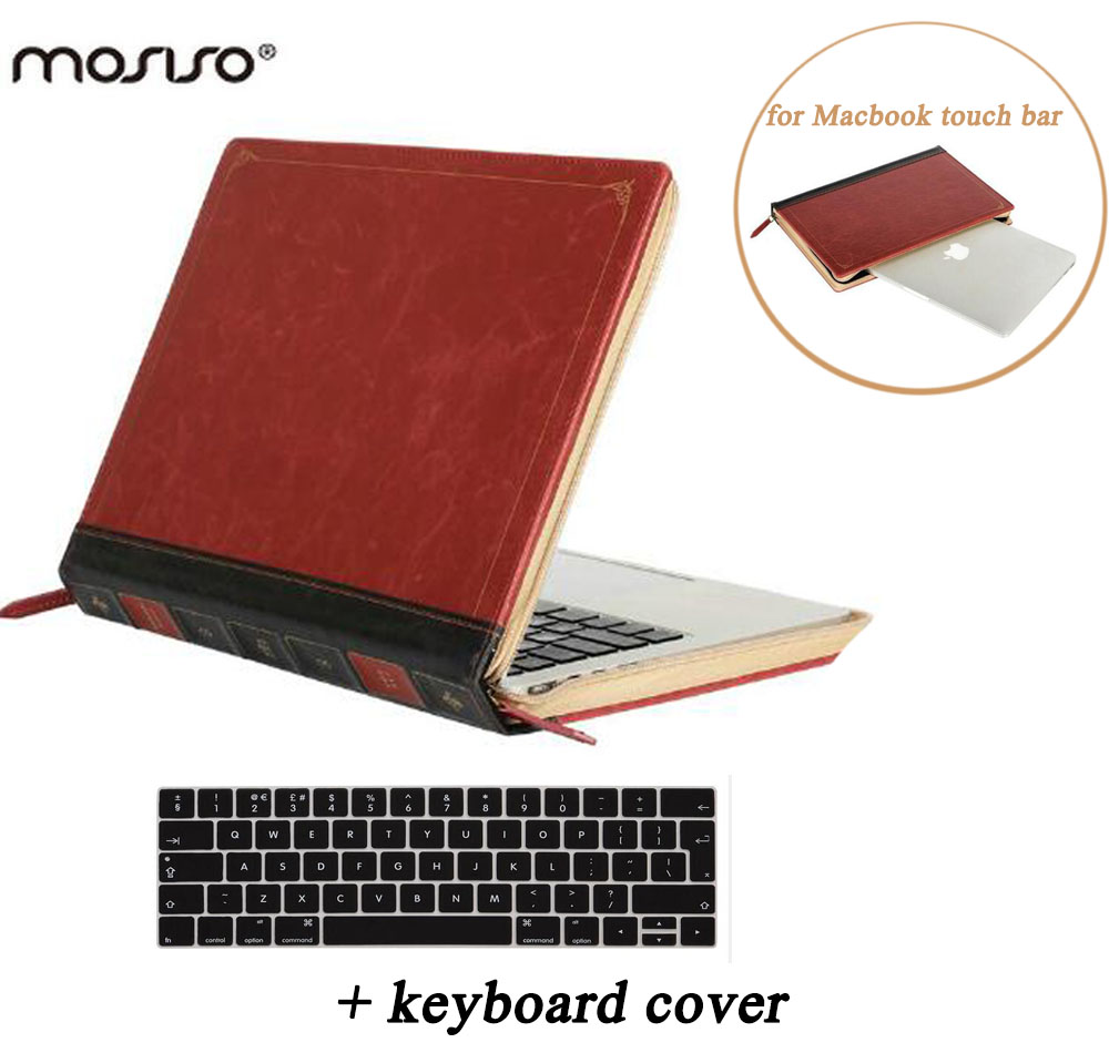MOSISO Vintage Classic PU Case for Macbook Pro 13 Touch Bar A1706 A1708 2016 2017 Pro 15 Touch Bar/ID A1707 PU Book Sleeve Cover epiphone pro 1 classic
