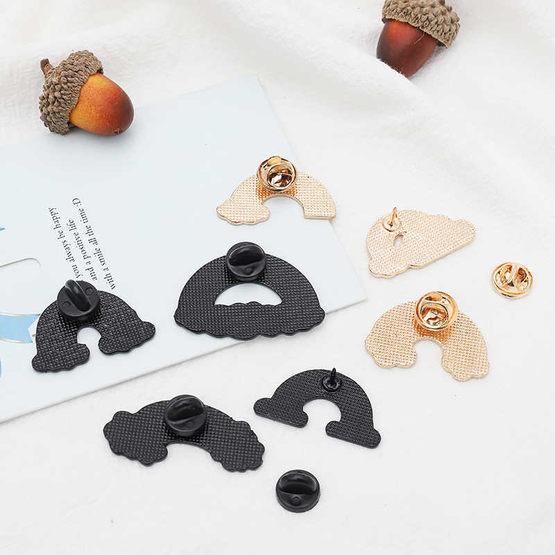 Berbagai Pelangi Pin Lucu Awan Sun Moon Warna-warni Bros Lencana Ransel Enamel Pin untuk Teman Hadiah Perhiasan Grosir