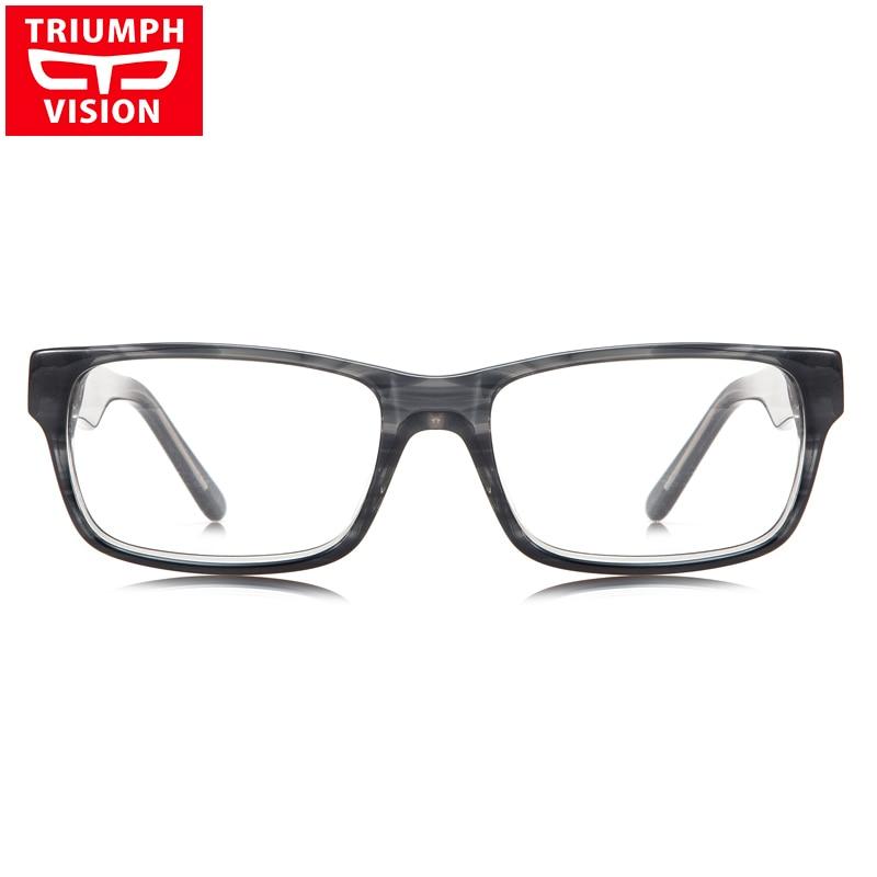 7244538e85 TRIUMPH VISION Computer Reading Prescription Glasses Spectacles Square Clear  Eyewear Myopia Eyeglasses for Sight Oculos de grau-in Prescription Glasses  from ...