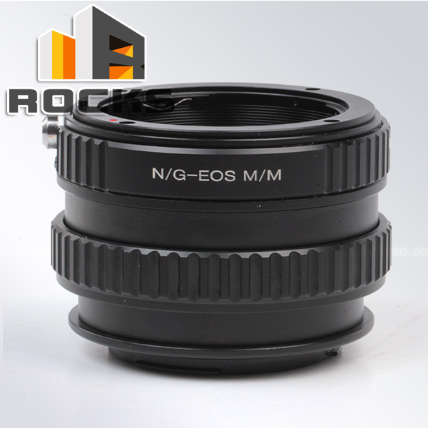 Pixco Adjustable Focusing Macro To Infinity Lens Tube Suit For Nikon F Mount G Lens to Canon EOS M M2 Mirrorless Camera
