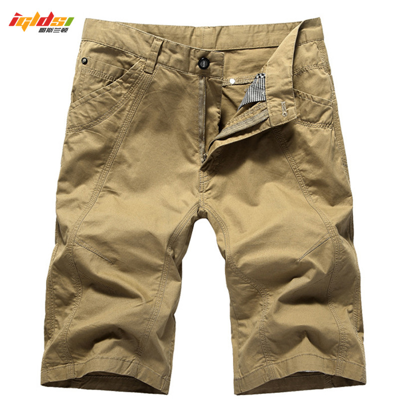 5c1b99e2a2 Men Cargo Shorts New 2018 Summer Cotton Military Shorts Boardshorts  Breathable Male Casual Shorts Masculino Bermuda