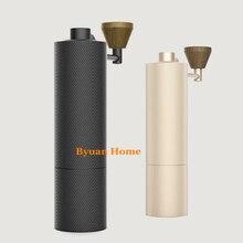 1 шт. MYM51 тонкий алюминиевый Портативный стальной шлифовальный сердечник высокое качество ручка дизайн супер ручная кофейная мельница Dulex подшипник