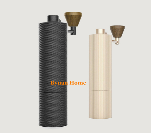 1pc MYM51 Slim New Aluminum portable steel grinding core High quality handle design super manual coffee mill Dulex bearing