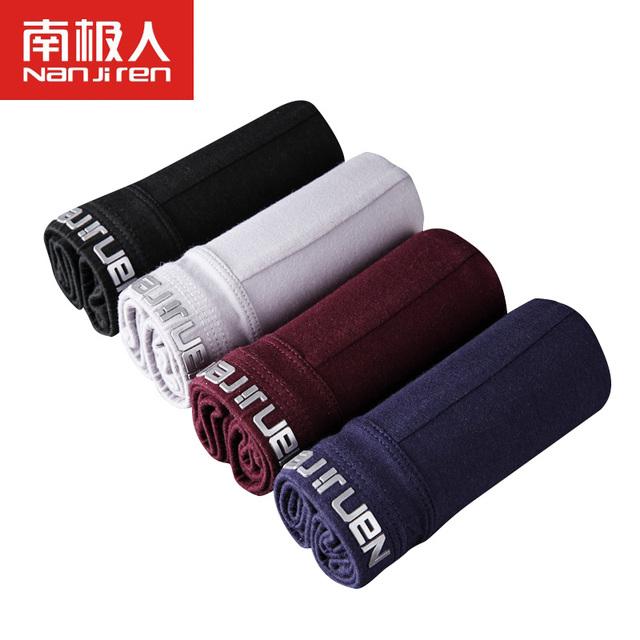 2017 nueva marca perfect soft cinturón mens underwear boxers plus tamaño u convexa sólido underwear hombres l ~ xxxl de la venta caliente libre gratis