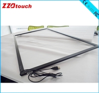 ZZDtouch 50 inch IR touch frame 10 points usb infrared touch screen multi touch panel touchscreen overlay for monitor pc tv