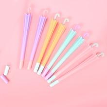 Buy 16 pcs Little candy color umbrella gel pen 0.5mm roller pens signature Black color ink Kawaii gift School supplies  FB584 directly from merchant!