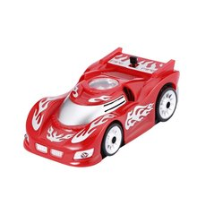 Red Wall and Ceiling Remote Control Car Racer