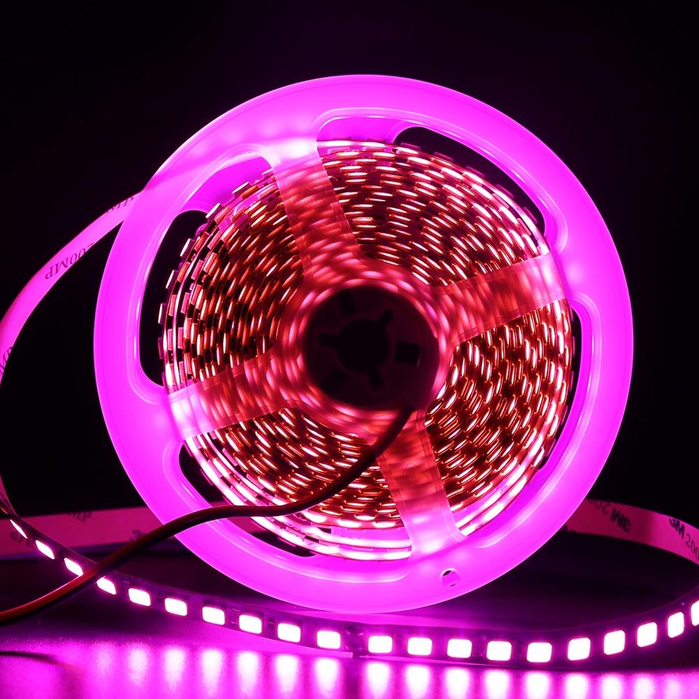HTB1X5 yflmWBuNkSndVq6AsApXa3 5M 600 LED 5054 LED Strip Light Waterproof DC12V Ribbon Tape Brighter Than 5050 Cold White/Warm White/Ice Blue/Red/Green/blue