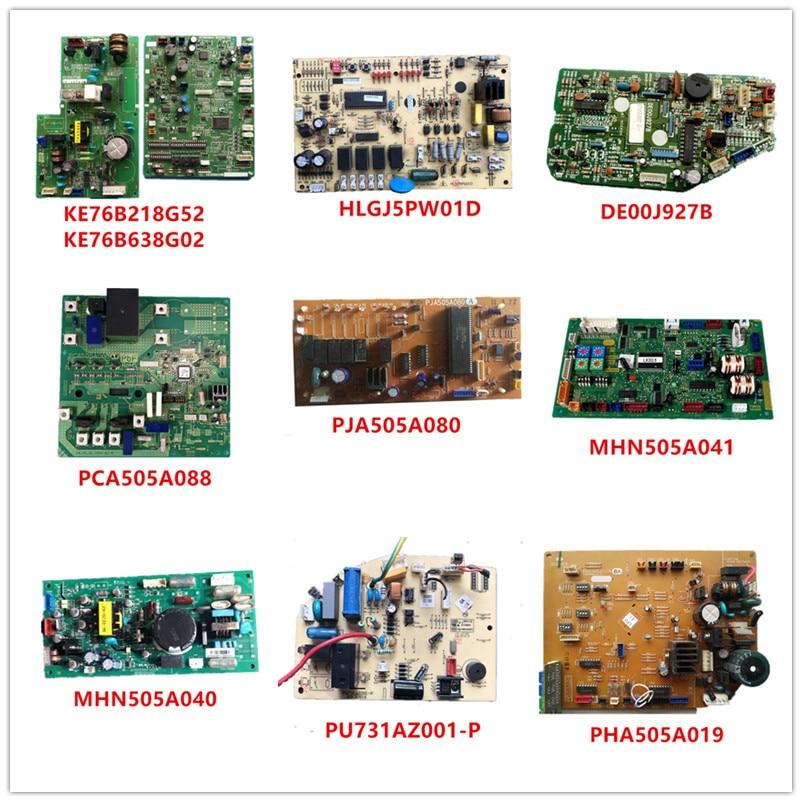 KE76B218G52/KE76B638G02/HLGJ5PW01D/DE00J927B/PCA505A088/PJA505A080/MHN505A041/MHN505A040/PU731AZ001-P/PHA505A019 Used Working