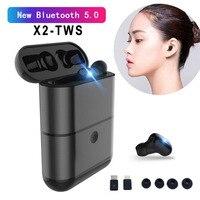 M1T X2 TWS Wireless Headphones Bluetooth 5.0 Earphones Cordless Headphone Handsfree Earbuds Audifono Bluetooth Earphone Headset