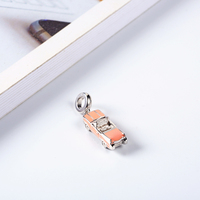 RainMarch Fits Pandora Charms Bracelets Original 925 Silver Beads Pink Car Pendant for Women Bracelets & Bangles Dropshipping