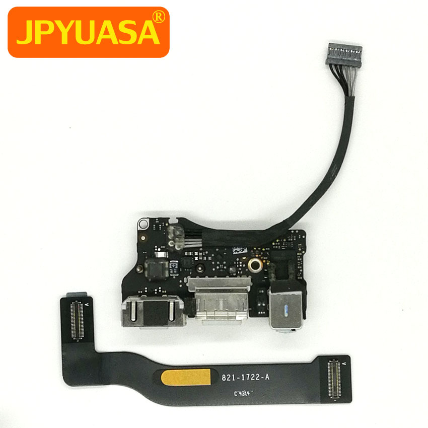 все цены на Genuine Laptop USB Power Audio Board With Flex Cable For Macbook Air 13 inch A1466 Mid 2013 to Early 2015