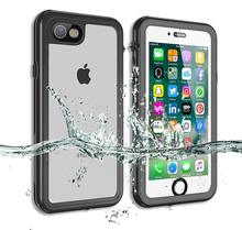 Redpepper For iPhone6/6s Waterproof case 360 full-body plastic Shockproof Dirtproof for iPhone 6s With Touch  ID Case Cover