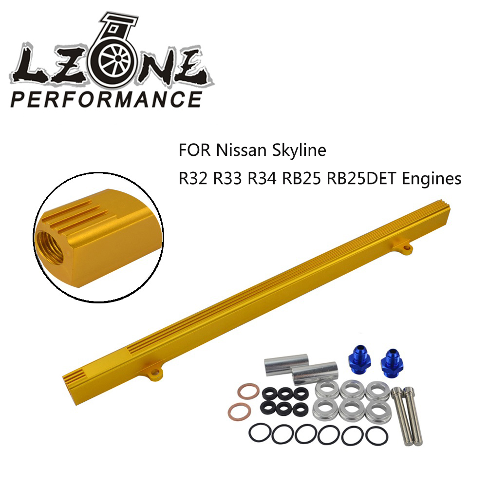 High Flow Top Feed Fuel Injector Rail for NISSAN Skyline R32 R33  RB25DET GTS