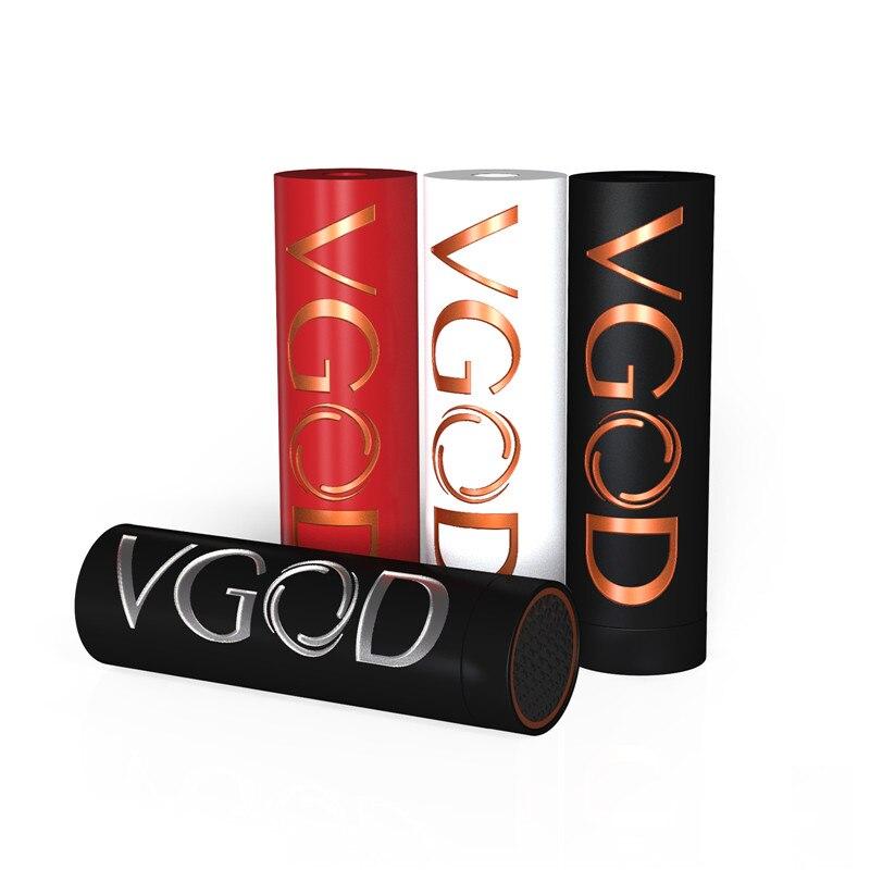 Cigarette électronique D'origine VGOD Pro Mech Mod 24mm Diamètre Billet Cuivre Construction Alimenté par Unique 18650 Batterie