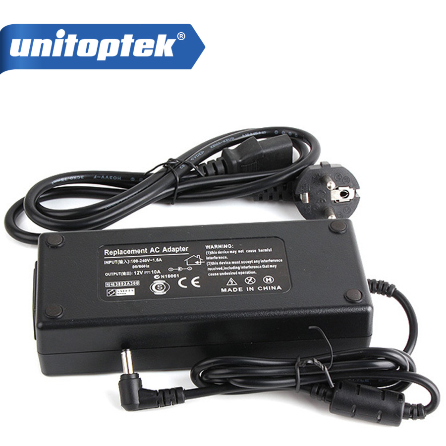 EU/US/AU/UK Plug DC 12V 10A 120W Output Led Strip AC Power Adapter Power Supply Switching Charger For LCD Monitor or CCTV Camera 5 pcs panel mounting us eu type female power supply plug 10a ac 250v