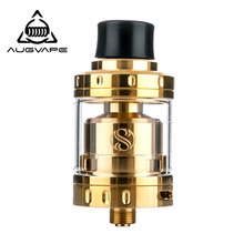 Augvape Merlin Mini RTA Atomizer tank 2ml Capacity 24mm Diameter Atomizer 510 thread Single And Dual Coil Decks vape tank rta недорого