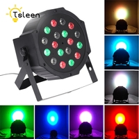 TSLEEN Free Shipping Professiona Lumiere Laser Light RGB Home Lighting LED Par Stage Lamp Controller Strobe