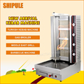 Brazilian Gas Grill Commercial Charcoal Grill Stainless Steel Barbecue Machine Rotary Oven