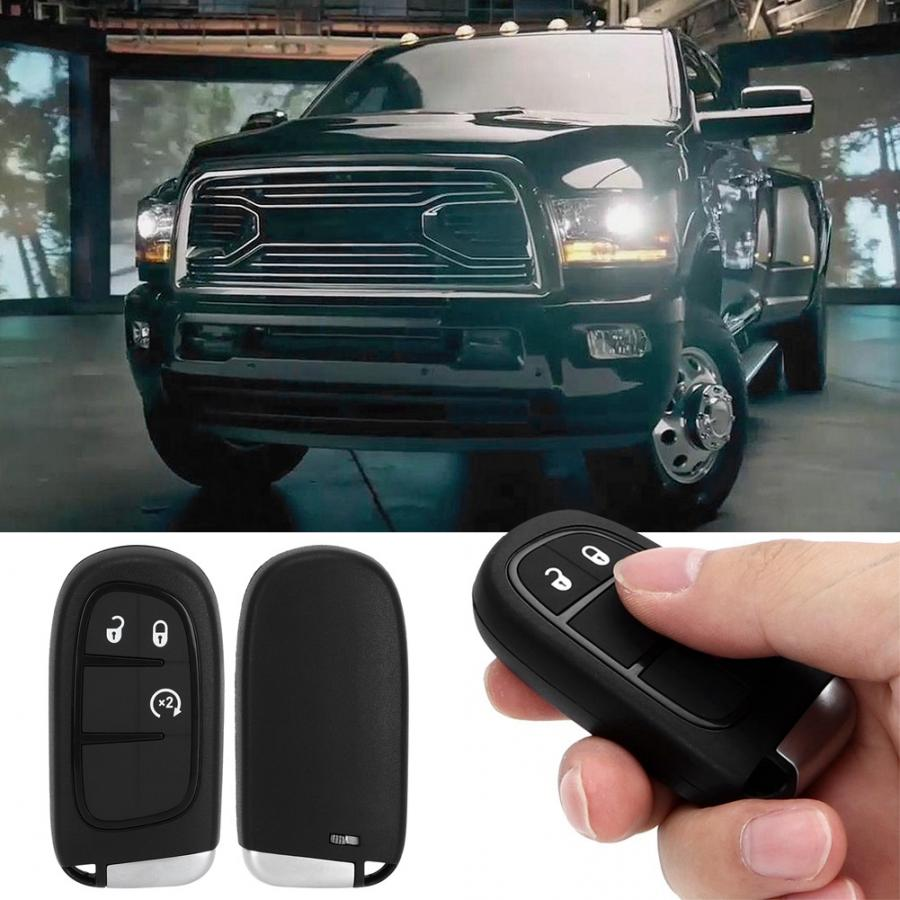 4 Button Remote Car Key 433Mhz 46 Chip GQ4 54T Fit for Ram 1500 2500 3500 2013 2014 2015 2016 2017 2018 2019