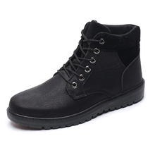 Ботинки Martin осень-зима модные теплые кожаные ботинки уличные ботинки Martin ботильоны Zapatos Hombres водонепроницаемые ботинки «Martin» Туфли без каблуков bo