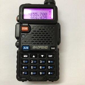 Image 2 - UV 5R Bộ Đàm Đài Phát Thanh Cơ Thể 2 Băng Tần VHF UHF Di Động Bộ Đàm 2 Chiều Đài Phát Thanh Phụ Kiện Cam Phối Đen Đỏ Xanh Dương