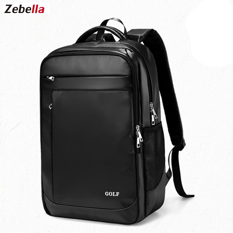 Zebella Men Women Bolsa Mochila Notebook Computer Large Capacity Student Casual Style For 15.6 Inch Laptop Backpack