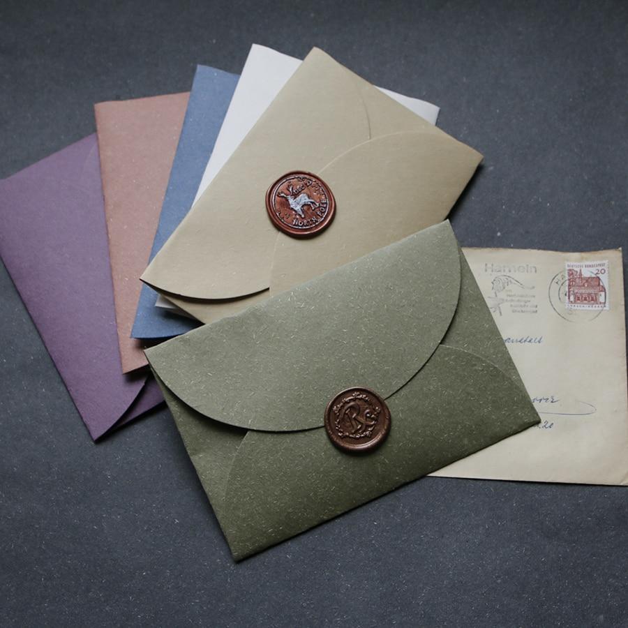 20pcs/set Pink Envelope Vintage Morandi Color Envelope For Greeting Postcard Writing Paper Zakka Gift Stationery Decor