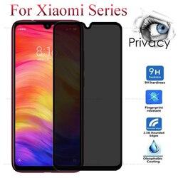 Szkło hartowane Anti Spy dla Xiaomi Redmi Note 7 7 Pro osłona ekranu dla Xiaomi Mi 9 SE Mi 8 Lite Mi9 Mi8 folia szklana