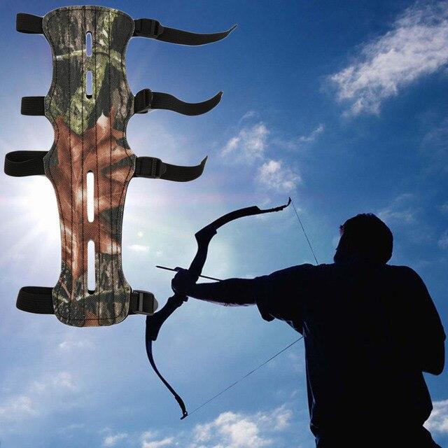 הסוואה ארצ 'ר Armguard זרוע משמר מגן ירי מתחם קשת