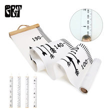 GT Wooden Wall Hanging Baby Height Measure Ruler Wall Sticker Decorative Child Kids Growth Chart for Bedroom Home Decoration(China)