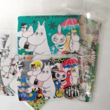 Moomin 2019 new bus card sticker font b toy b font sticker kid muumi cartoon sticker