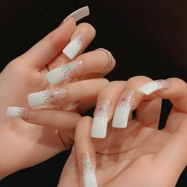Clear French Nails | Best Nail Designs 2018