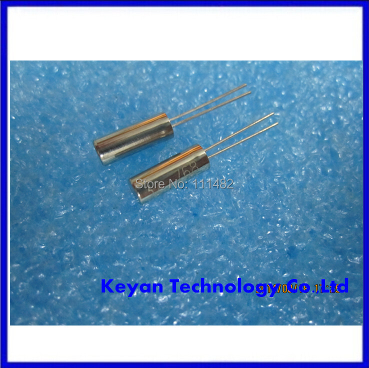 100pcs/lot <font><b>32.768</b></font> kHz Crystal 3*8 mm Oscillator image