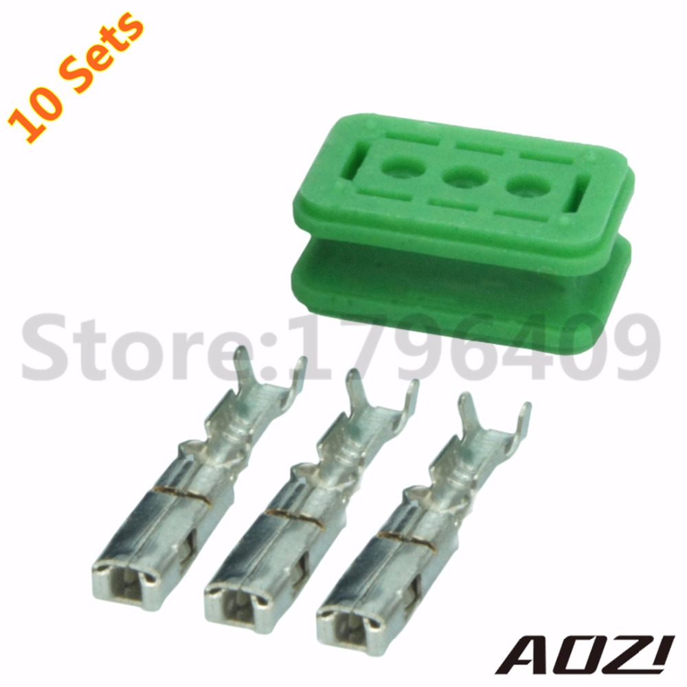 10 Sets Number 211PC032S0049 Auto Wire Harness Connectors 3Pins Female  Plastic Connector And Terminal-in Connectors from Lights & Lighting on  Aliexpress.com ...