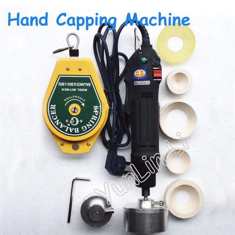 10-50mm Hand Capper Handheld Electric Capping Machine Easy Operation Screw Machine SG-1550 30 sets best cap making machinery handheld electric capping machine screw machine easy operation hand capper 10 50mm