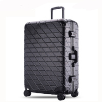20 24 26 29 inches Trolley Suitcase Aluminum Rolling Luggage With TSA Lock Large Capacity mala de viagem Travel Suitcase