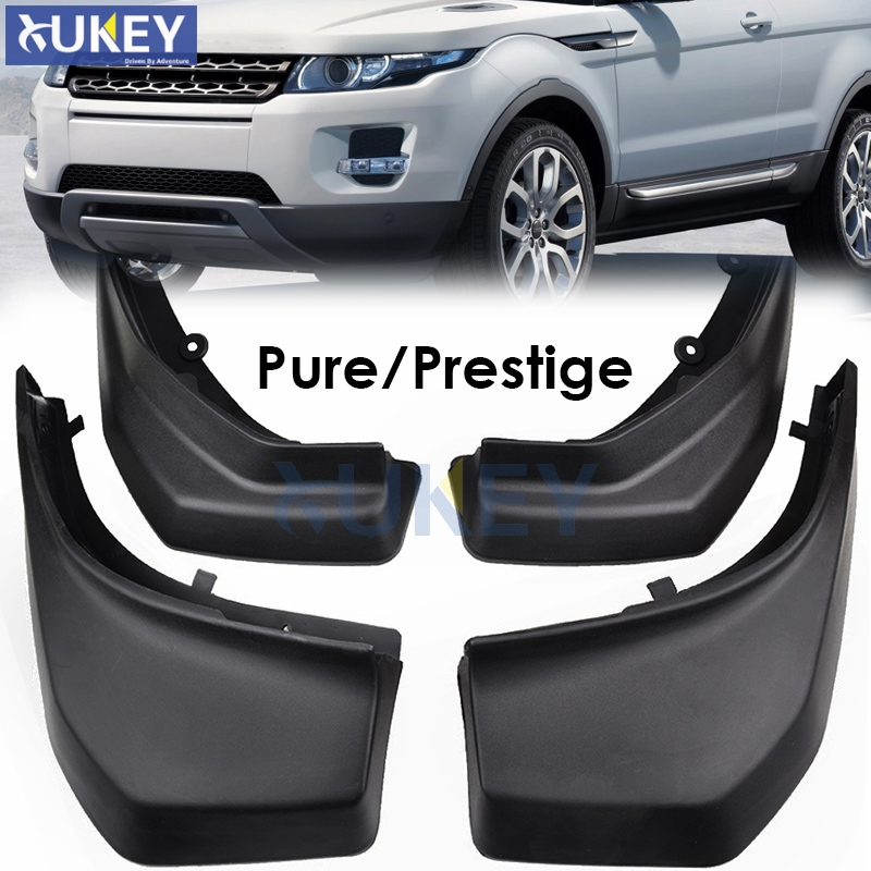 FIT FOR RANGE ROVER EVOQUE 2012 2018 PURE PRESTIGE MUDFLAPS MUD FLAP SPLASH GUARD MUDGUARDS FRONT REAR FENDER ACCESSOIRES-in Mudguards from Automobiles & Motorcycles    1