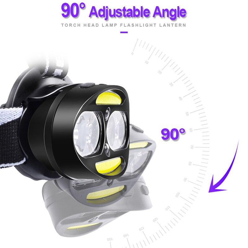 4*T6 Headlamp SEAMETAL Head 6
