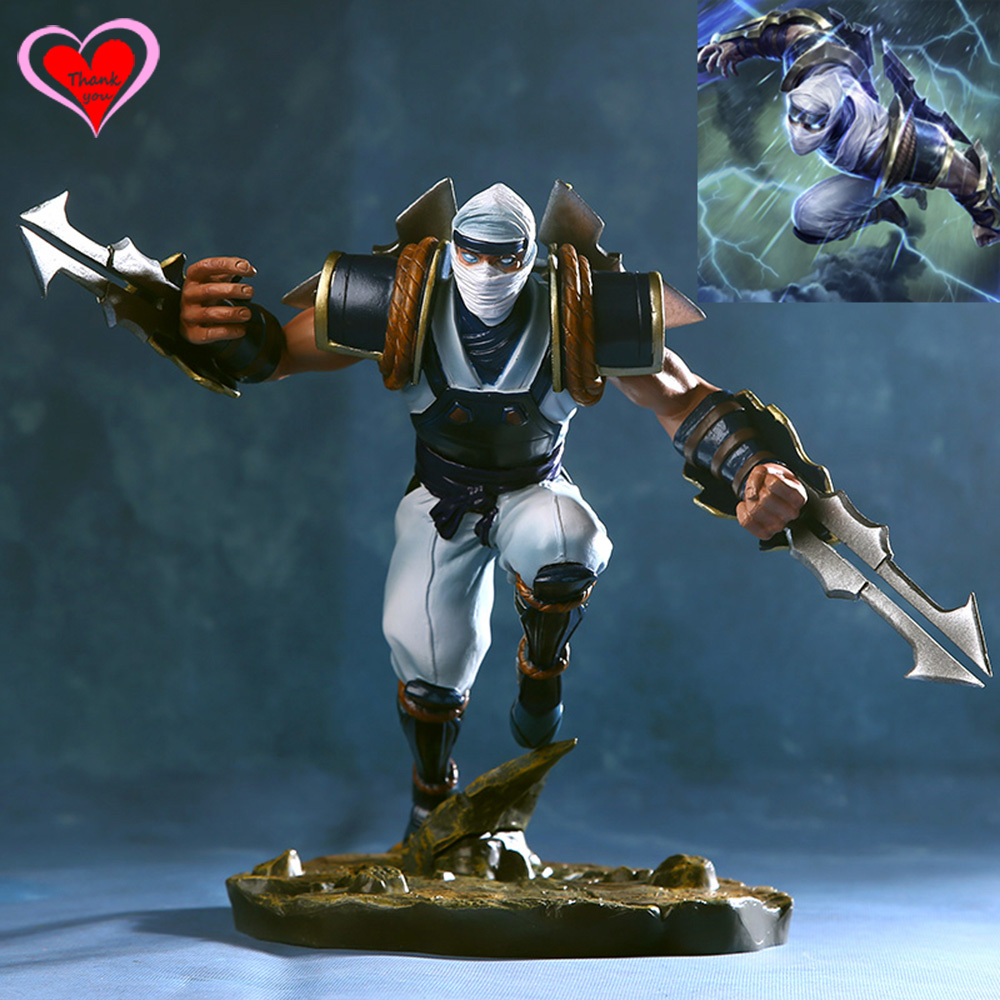 Love Thank You  The Master of Shadows Zed PVC Anime Figure Toy Collection model gift New Hobby  LOL love thank you atelier kaguya all rights reserved pvc anime figure toy collectibles model gift new