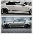 M Power Motorsport Vinilo Reflectante Cintura Line Car Sticker Decal Auto Tuning para BMW M3 M5 X1 X3 X5 X6 E36 E39 E46 E30 E60 E90