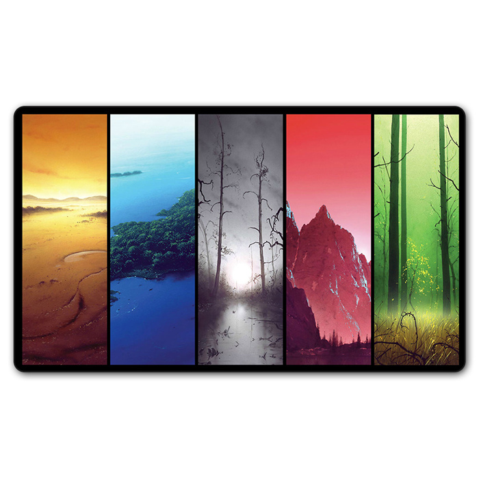 Magical Unhinged Lands proxy Games Gathering Play mat big