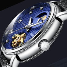 Tevise Automatic Tourbillon Mechanical Watches Waterproof