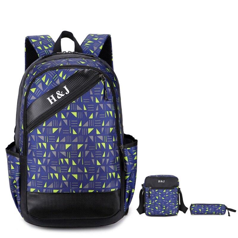 2017 ПР Марка Высокое качество Элегантный дизайн холст рюкзак комплект школьная сумка для подростка Обувь для девочек мальчиков Рюкзак Путеш...