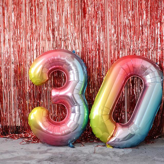 Número de Globos de Fiesta de Cumpleaños